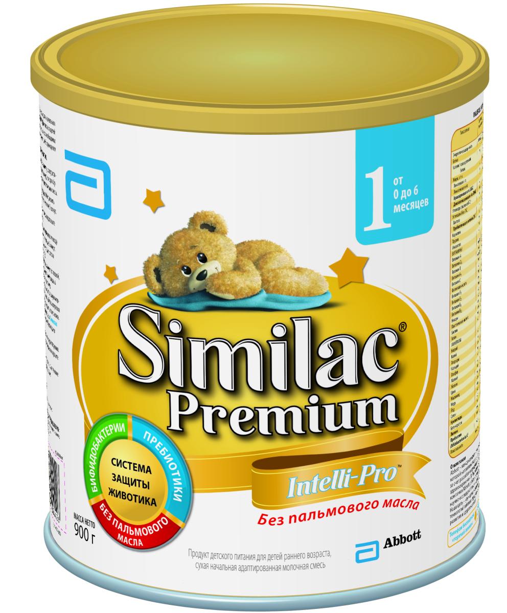 Similak Премиум 1 смесь молочная с 0 месяцев, 900 г20027593Начальная адаптированная детская молочная смесь премиум класса без пальмового масла, максимально приближенная по составу к грудному молоку. Уникальный состав с Системой Защиты Животика и Комплексом для развития мозга и зрения. Система защиты животика: без пальмового масла; способствует формированию мягкого стула; пребиотики; помогают формированию здоровой собственной микрофлоры кишечника и мягкого стула; пробиотики; живые бифидобактерии B.lactis (BL) поддерживают здоровую микрофлору кишечника. Развитие головного мозга и зрения: уникальный комплекс «IQ Intelli-Pro»; содержит набор важных компонентов для развития мозга и зрения, в т.ч. Омега-3 (DHA) и Омега-6 (ARA) жирные кислоты, а также Лютеин; лютеин - антиоксидант, входящий в состав грудного молока, важный для здоровья глаз. Лютеин не вырабатывается в организме, поэтому малыш может получить его только с питанием.