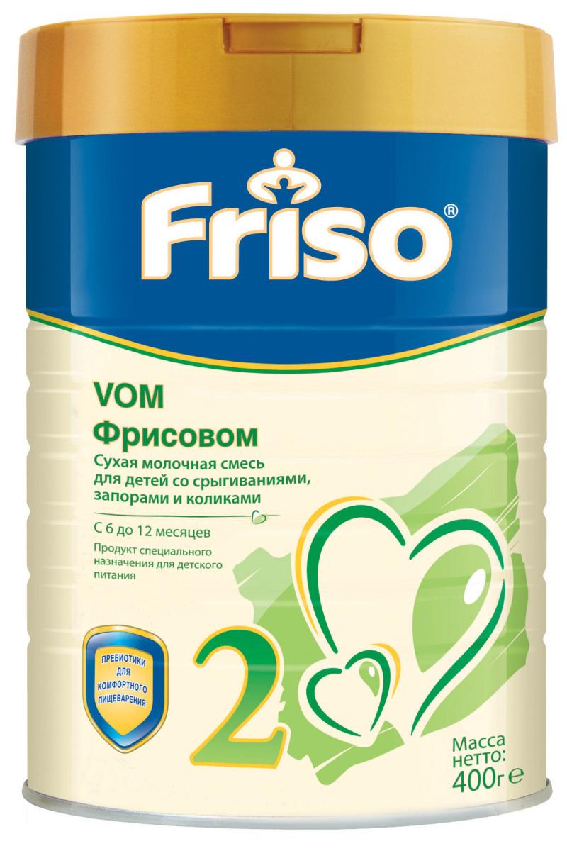 Friso Фрисовом 2 с пребиотиками молочная смесь, с 6 месяцев, 400 г смесь friso 1 400 г