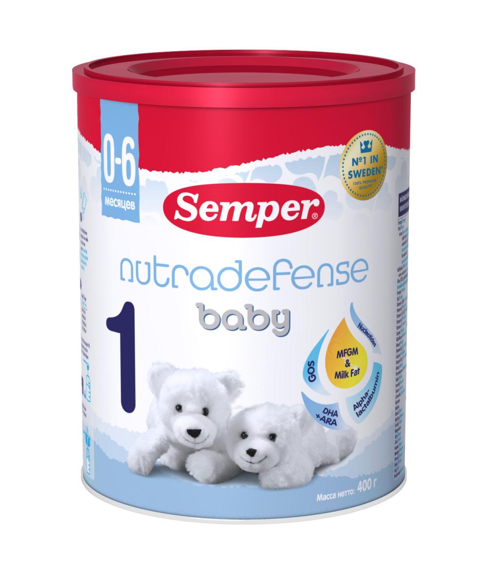 Semper ND Baby 1 смесь молочная с 0 месяцев, 400 г