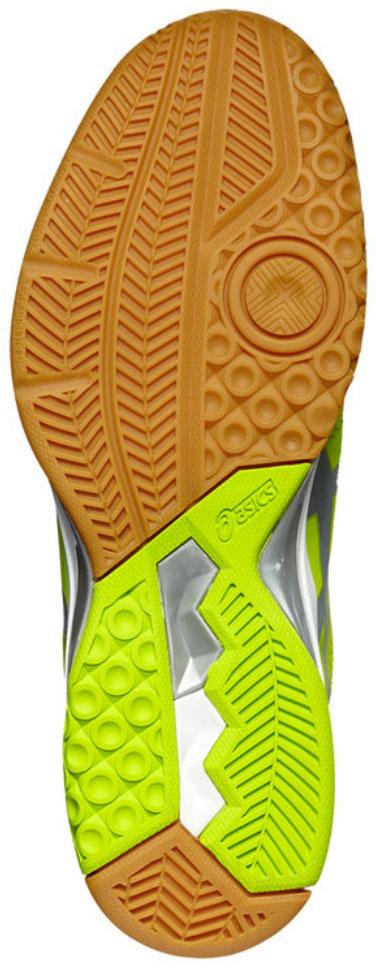 Кроссовки мужские Asics Gel-Rocket 8, цвет:  салатовый.  B706Y-7793.  Размер 8H (40,5) Asics