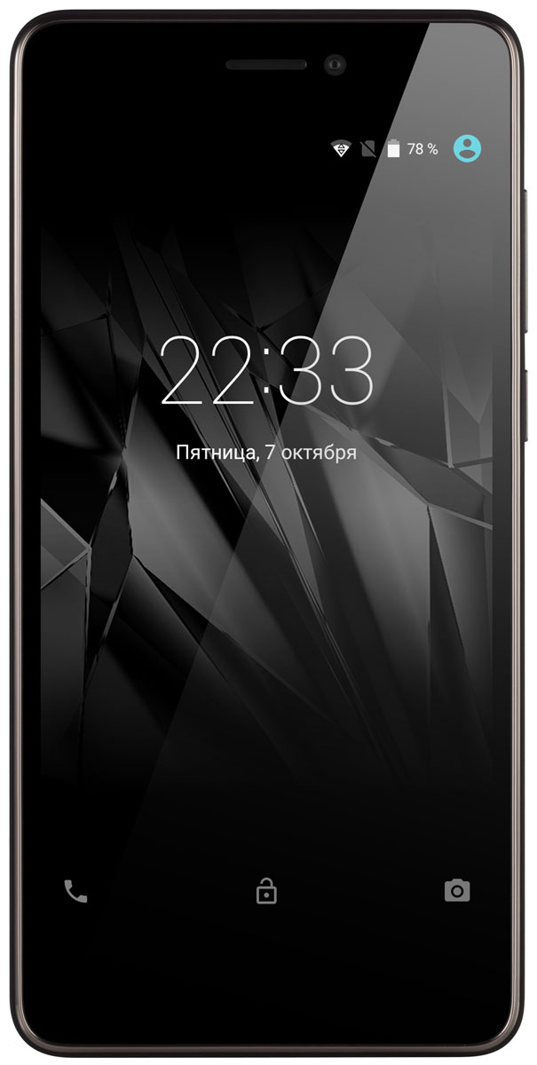 Micromax Canvas Juice A1 Q4251, Black Grey