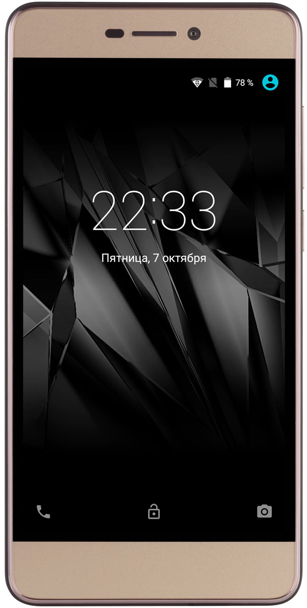 Micromax Canvas Juice A1 Q4251, Champagne Gold micromax q4260 canvas juice a1 plus champagne