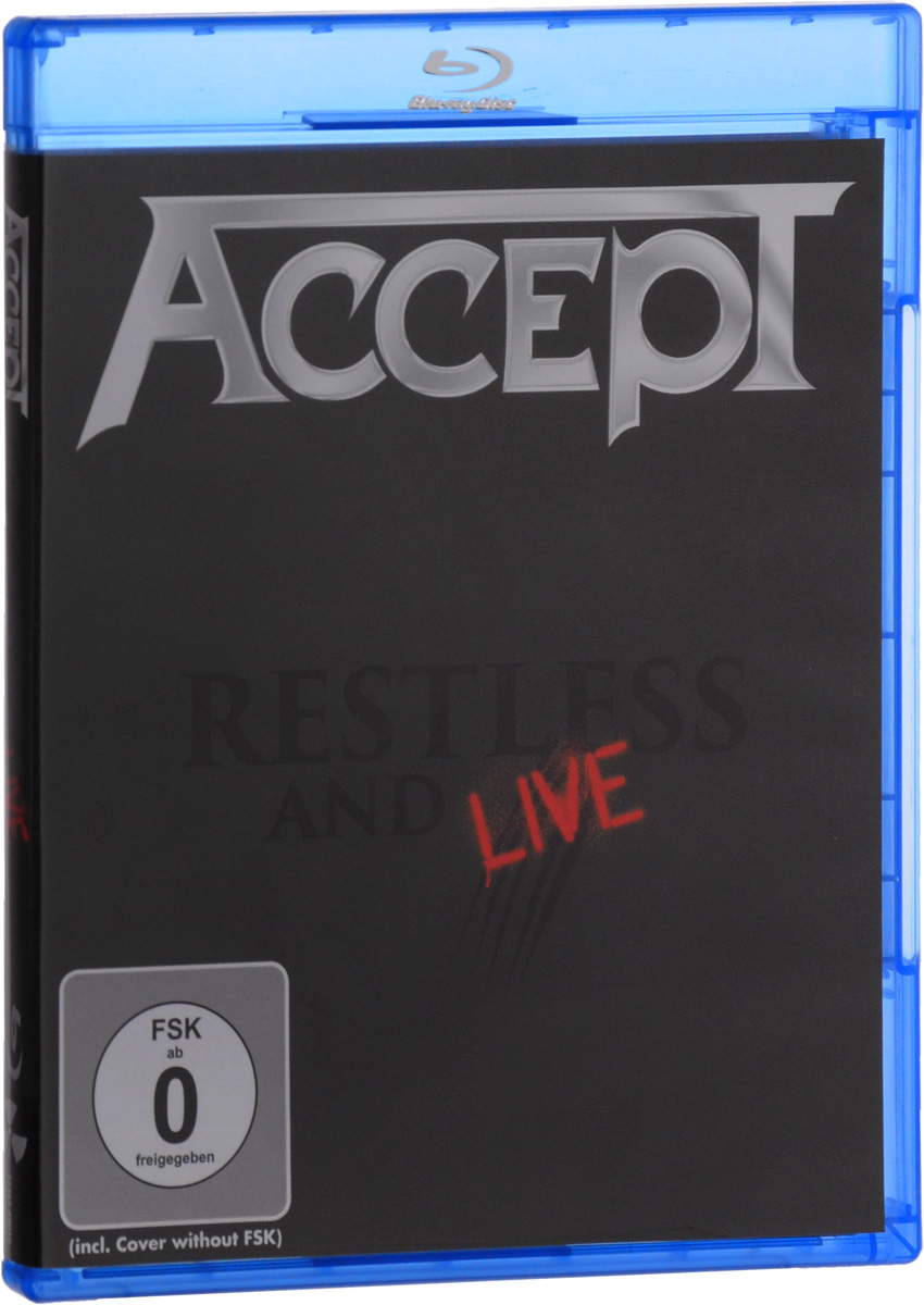 Accept: Restless & Live (Blu-ray) europe live at shepherd s bush london blu ray