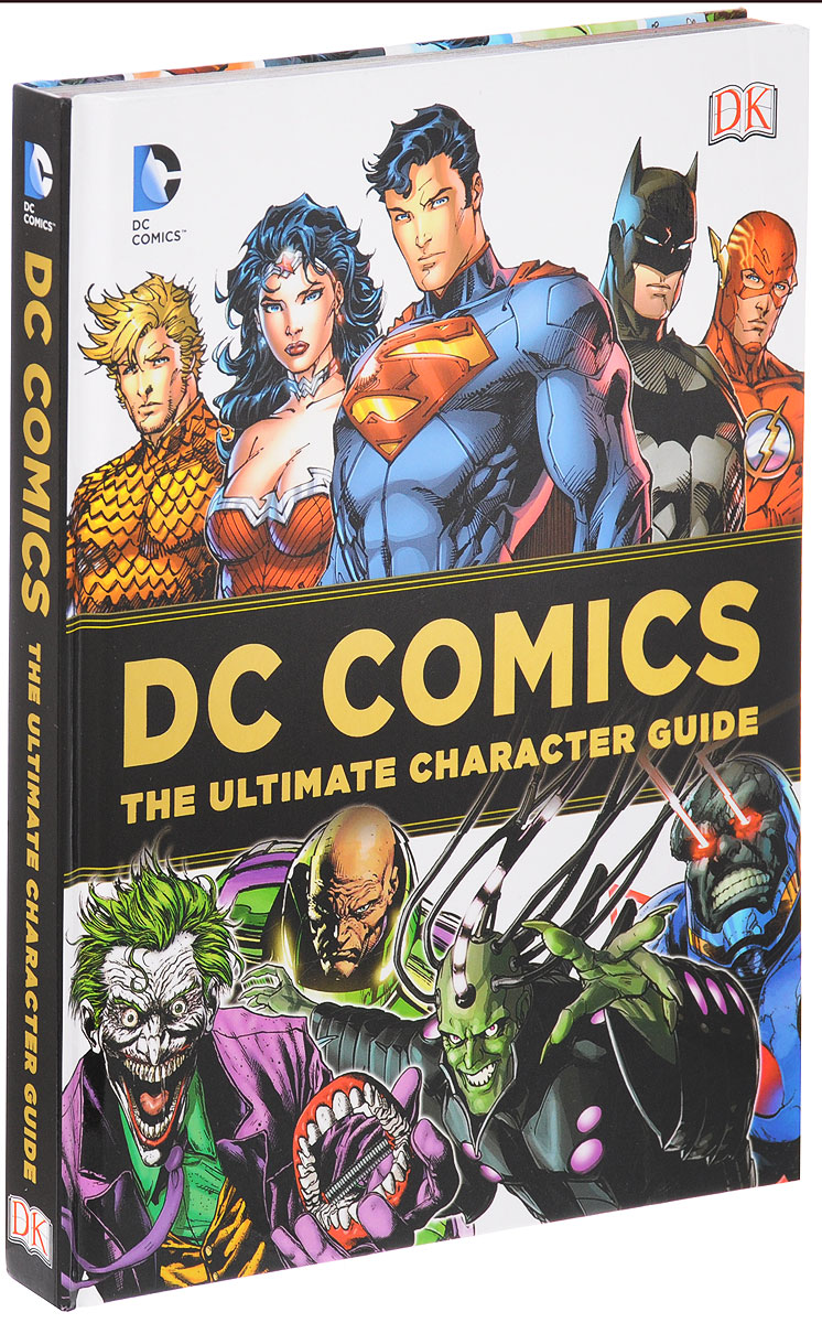 DC Comics Ultimate Character Guide about you кардиган