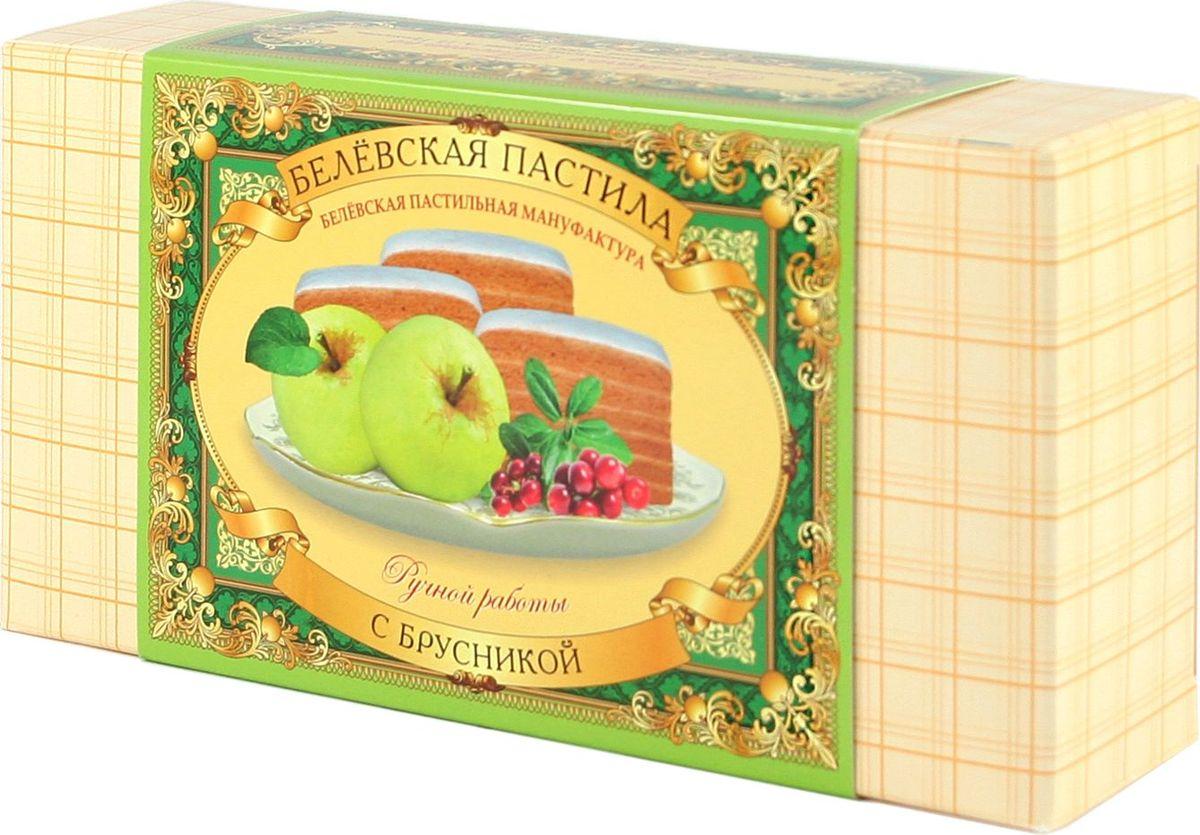 Белевская пастильная мануфактура Белевская пастила с брусникой, 200 г