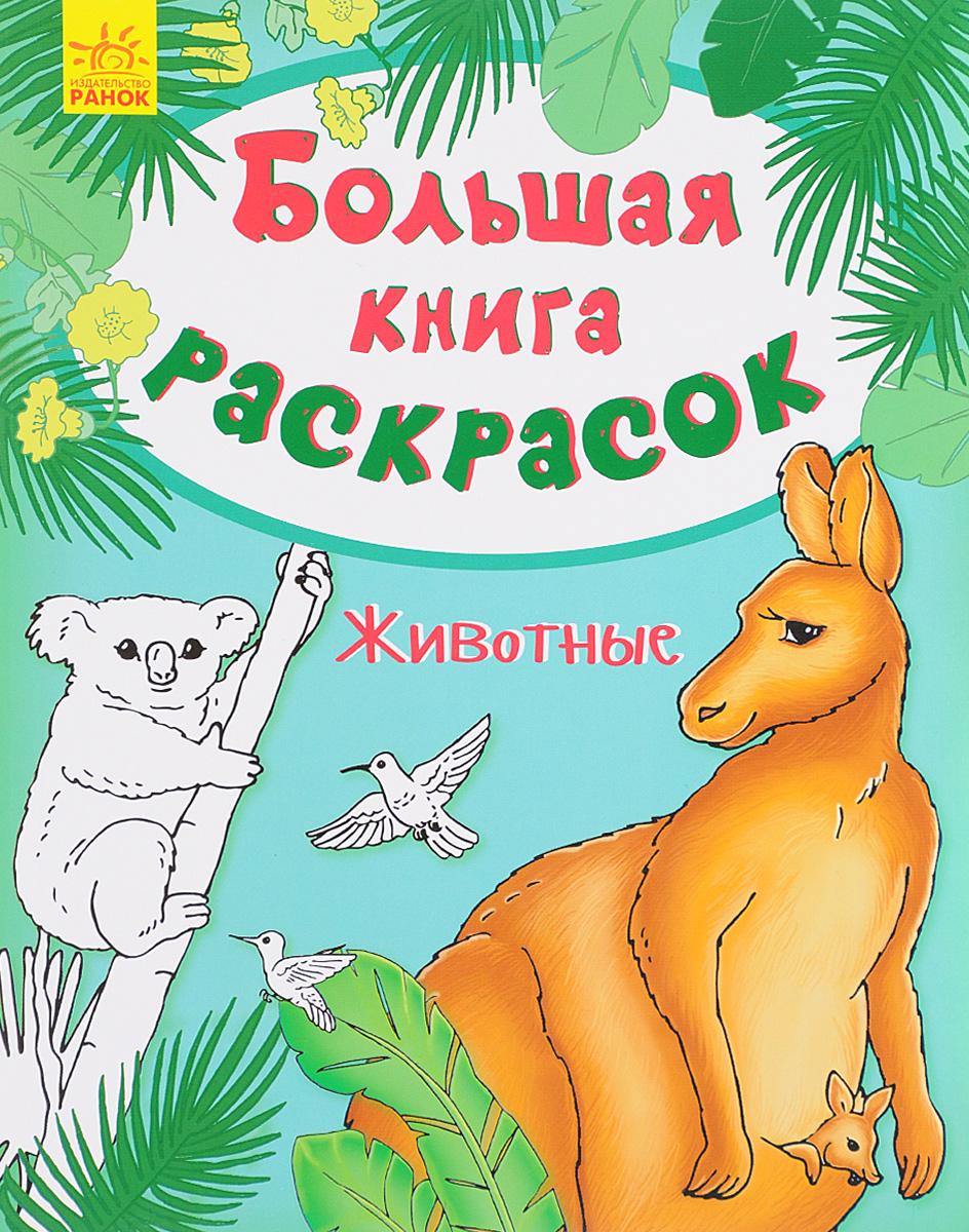 Животные. Большая книга раскрасок большая книга раскрасок принцессы