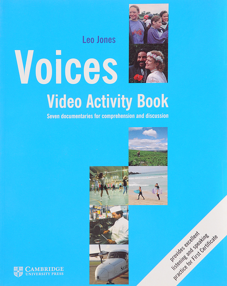 Voices Video Activity Book: Seven Documentaries for Comprehension and Discussion