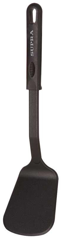 Лопатка Supra Tensi, длина 32 смSA-T55STРабочая поверхность лопатки серии Tensi создана из нейлона, благодаря чему она одновременно и гибкая, и прочная, и безопасная для вашего здоровья. Материал ручек - нескользящий и приятный на ощупь полипропилен. Широкая лопатка перемешивает быстрее, ей можно переворачивать большие куски мяса или целую рыбу, не боясь ее разрушить. Удобная подвесная петля делает лопатку легкой не только в использовании, но и в хранении. Длина: 32 смШирина: 8 смМаксимальная температура нагрева: 210°С.