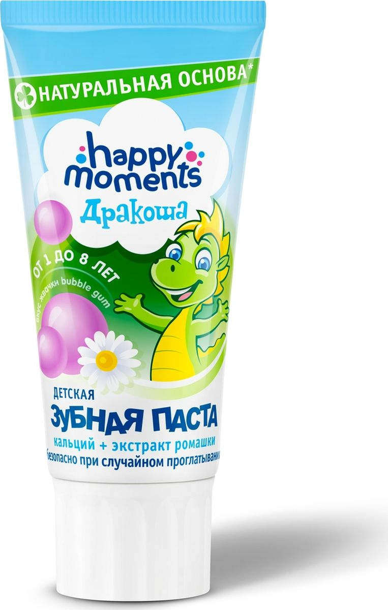 Дракоша Happy Moments гелевая зубная паста