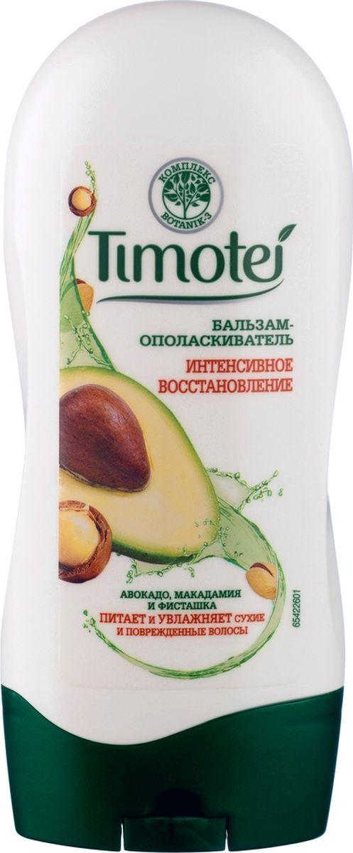 Тimotei бальзам-ополаскиватель Интенсивное восстановление, 200 мл манекен с натуральными волосами