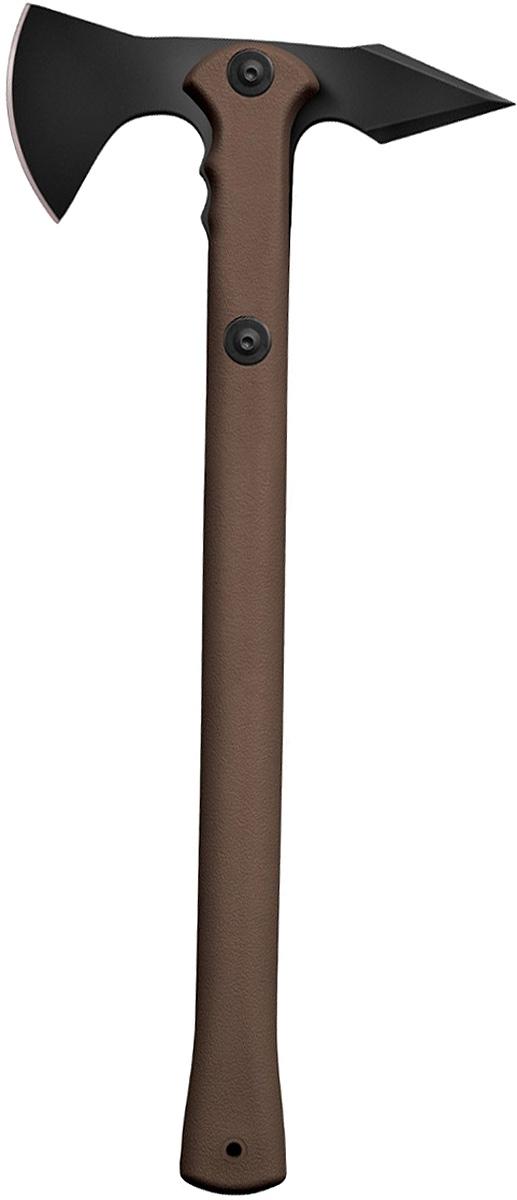 Топорик туристический Cold Steel  Trench Hawk , цвет: коричневый - Топоры и пилы