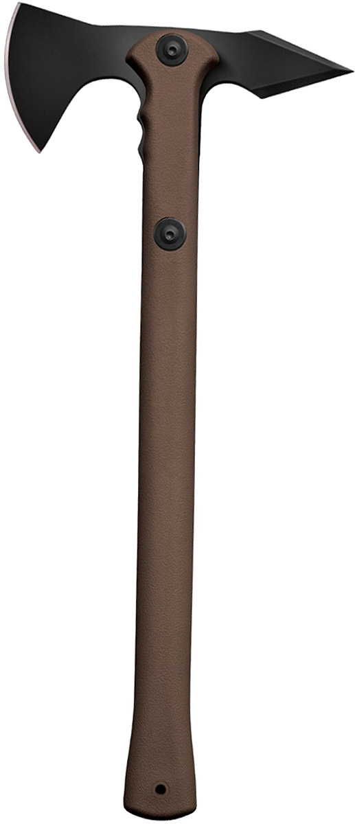 Топорик туристический Cold Steel Trench Hawk, цвет: коричневый