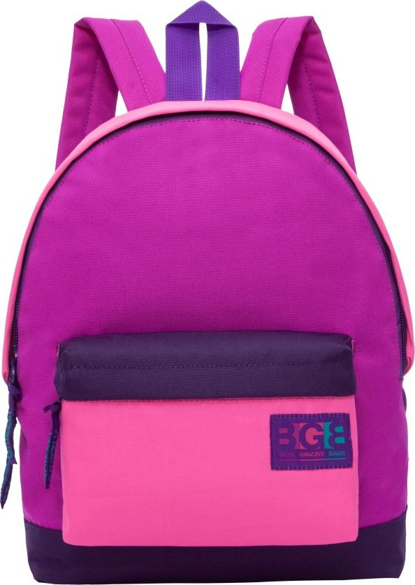 Рюкзак городской женский Grizzly, цвет: фиолетовый, 12,5 лRD-750-4Рюкзак Grizzly изготовлен из высококачественного таслана и выполнен в оригинальном дизайне. Изделие имеет одно отделение, объемный карман на молнии на передней стенке, внутренний подвесной карман на молнии, укрепленную спинку, дополнительную ручку-петлю иукрепленные лямки.