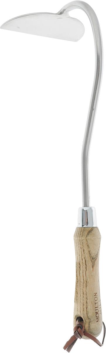 Тяпка Gardman Moulton Mill. 9511595115Тяпка Gardman Moulton Mill изготовлена извысококачественной нержавеющей стали. Нержавеющая стальуменьшает прилипание почвы и комбинирует практичность идлительность использования. Эргономичная рукояткавыполнена из древесины дуба. Для удобства есть отверстие дляподвешивания. Тяпка предназначена для обработки маленьких территорий иудаления сорняков. Она позволяет подготовить почву передпосевом и более бережно ухаживать за растениями.Длина тяпки: 31,5 см.Размер рабочей поверхности: 8 х 4 см.