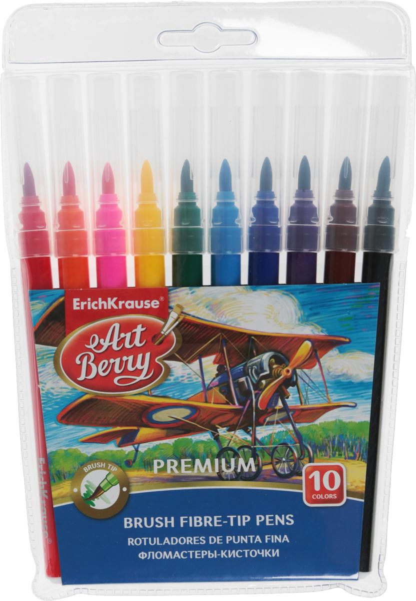 Erich Krause Фломастеры 10 цветов33055Фломастеры с широкими кончиками Erich Krause помогут маленькому художнику раскрыть свой творческийпотенциал, рисовать ираскрашивать яркие картинки, развивая воображение, мелкую моторику и цветовосприятие.В наборе 10 разноцветных фломастеров. Корпусы фломастеров выполнены из цветного пластика. Чернила на воднойосновеокрашены с использованием пищевых красителей, благодаря чему они полностью безопасны для ребенка и имеютяркие,насыщенные цвета. Если маленький художник запачкался - не беда, ведь фломастеры отстирываются с большинстватканей. Вентилируемый колпачок надолго сохранит яркость цветов.