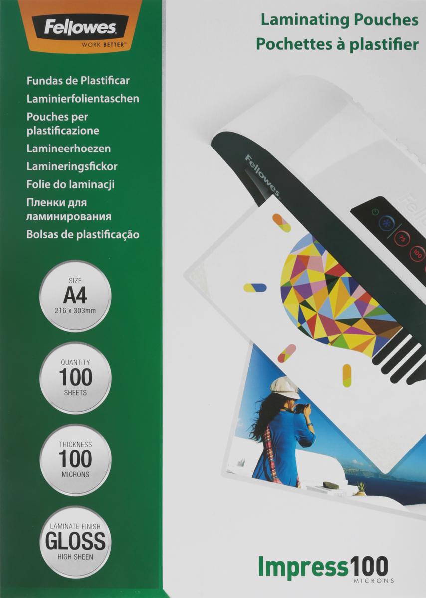 Fellowes A4 FS-53511 пленка для ламинирования, 100 мкм (100 шт)FS-53511Fellowes A4 FS-53511 - пленка для горячего ламинирования глянцевая с высоким содержанием полиэстера (50%). Используется для защиты документов от влаги, загрязнения, механических повреждений, придания жесткости и яркости. Обладает высокой прозрачностью.Уважаемые клиенты! Обращаем ваше внимание на то, что упаковка может иметь несколько видов дизайна. Поставка осуществляется в зависимости от наличия на складе.