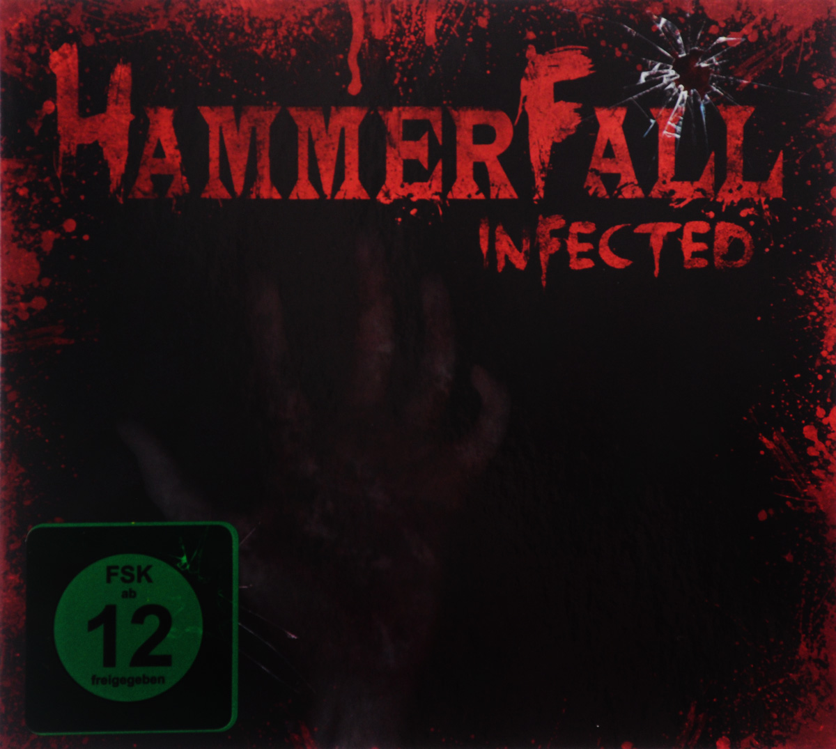 Hammerfall: Infected (DVD + CD) hammerfall rebels with a cause unruly unrestrained uninhibited dvd cd
