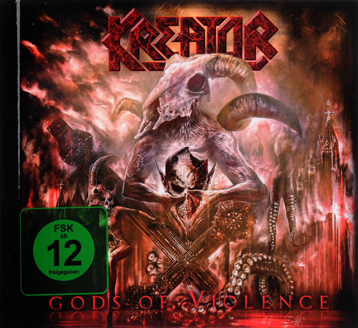 Kreator: Gods Of Violence (DVD + CD) цена