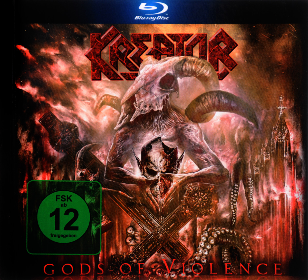 Kreator: Gods Of Violence (Blu-ray + CD) the food of the gods