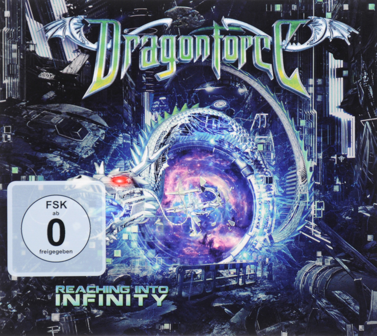 Dragonforce: Reaching Into Infinity. Limited Edition (DVD + CD) аппарат для ухода за кожей bradex ажур