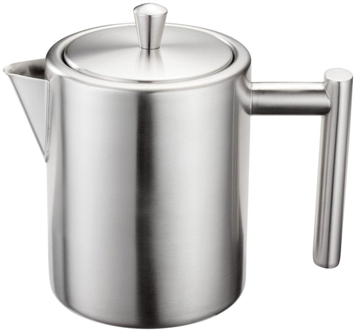 Чайник заварочный Silampos Oslo, цвет: матовая сталь, 600 мл. 41281318SM90 посуда кухонная