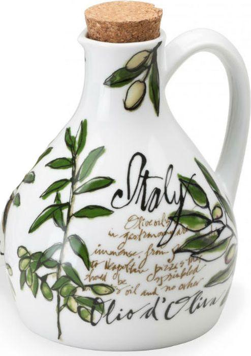 Бутылка для оливкового масла Rosanna Olive Oil32821Бутылка для оливкового масла Rosanna Olive Oil выполнена из фарфора и подчеркнёт ваш вкус в окружающих вещах. Коллекция предназначена для создания у вас праздничного настроения каждый день. Её необычный дизайн будет изюминкой в интерьере современной кухни. В комплекте - пробка.Нельзя использовать в микроволновой печи.Размер: 6,7 x 14,3 x 6,7 см.