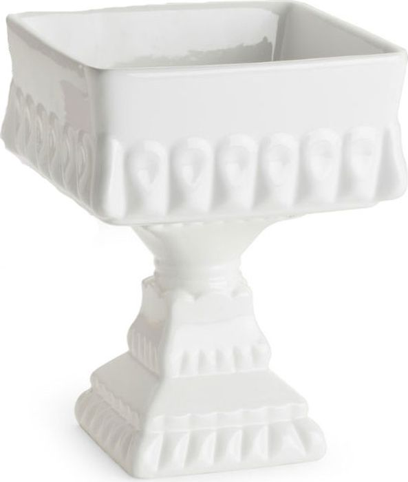 Ваза для сервировки Rosanna Decor Bon Bon. 51147038382Ваза для сервировки Rosanna Decor Bon Bon изготовлена из настоящего фарфора сглазурованным покрытием. Ваза идеально подойдет для сервировки тортов, пирожных и другихдесертов. Изделие поражает воображение и имеет неповторимый силуэт.Не рекомендуется использовать в микроволновой печи во избежание появления трещин.