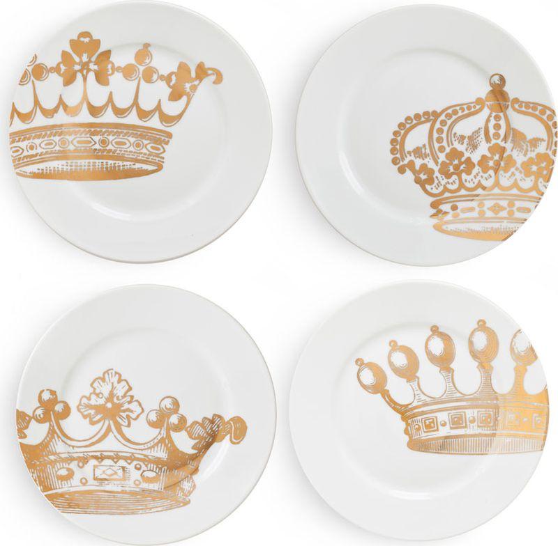 Набор десертных тарелок Rosanna Redux, 4 шт55003