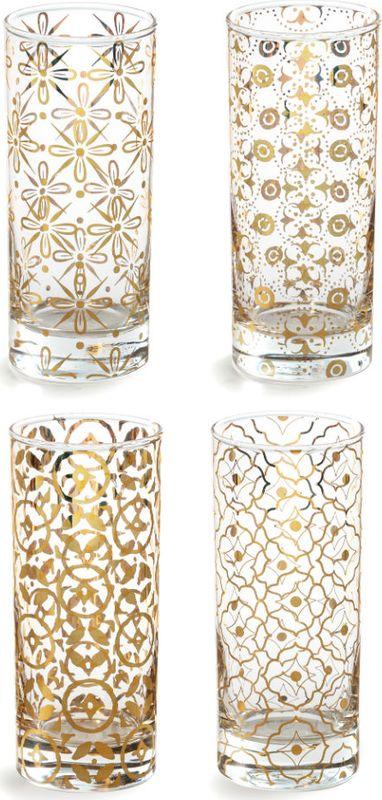 Набор стаканов Rosanna Kashmir, 4 шт. 9585795857