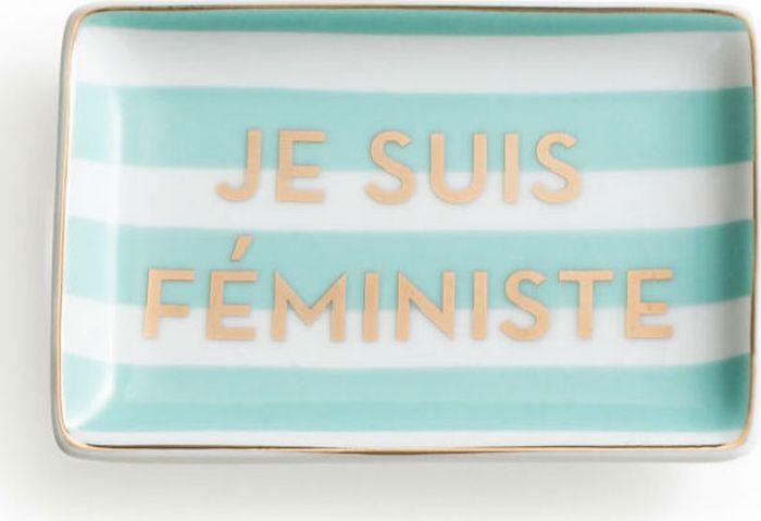 Поднос декоративный Rosanna Je Suis Feministe96172