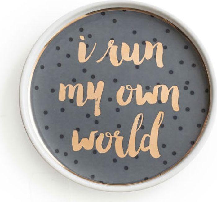 Поднос декоративный Rosanna I Run My Own World 96177
