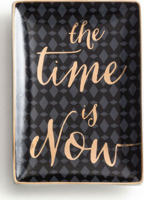Поднос декоративный Rosanna The Time Is Now 96181