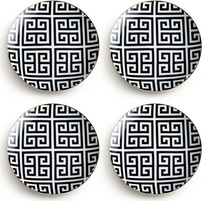 Набор тарелок Rosanna Greek Key, 4 шт96523