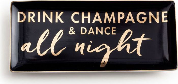 Поднос Rosanna Drink Champagne & Dance All Night96529
