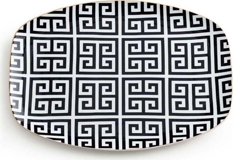 Поднос сервировочный Rosanna Greek Key96531Поднос Rosanna, изготовленный из настоящего фарфора в изысканных расцветках, станетнезаменимым предметом для сервировки стола и не оставит ни одну хозяйку равнодушной. Не рекомендуется использовать в микроволновой печи во избежание появления трещин.