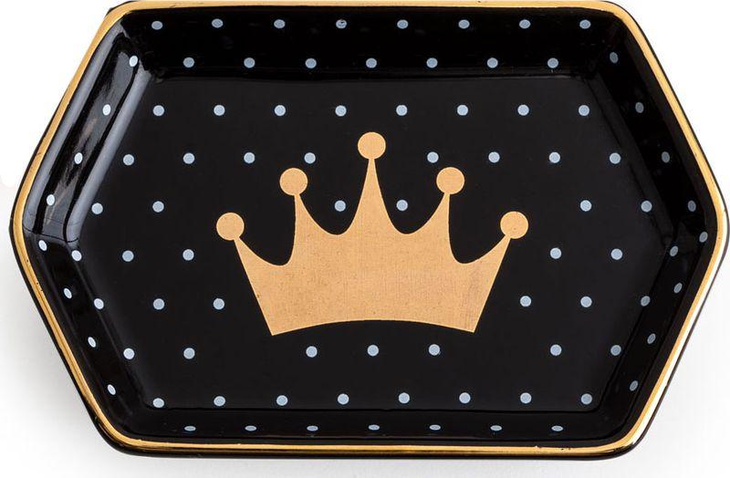 Поднос декоративный Rosanna Crown96947Поднос Rosanna, изготовленный из настоящего фарфора в изысканных расцветках, станет незаменимым предметом для сервировки стола и не оставит ни одну хозяйку равнодушной. станет незаменимым предметом для сервировки стола.Не рекомендуется использовать в микроволновой печи во избежание появления трещин.