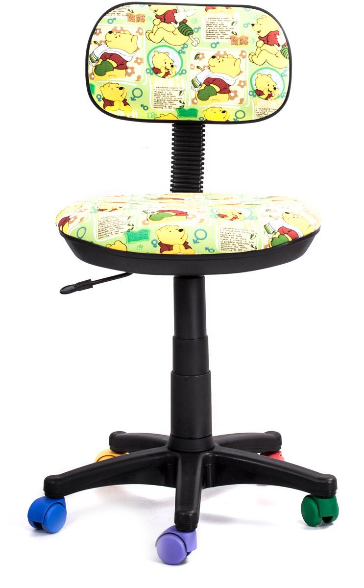 Кресло детское Recardo Junior. Винни Пух462239Детское кресло Recardo Junior DA01 займет достойное место в детской комнате. Обивка с веселым принтом Винни-Пух и разноцветные колесики создадут у ребенка ощущение своей вещи. Благодаря широкому диапазону регулировки высоты вы можете быть уверены, что кресло будет расти вместе с ребенком. Механизм качания/откидывания позволяет легко настраивать кресло для максимального удобства и заботиться об осанке.