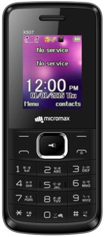 Micromax X507, BlackT028358Micromax X507 - сотовый телефон с классическим корпусом и емким аккумулятором. В распоряжении пользователя все необходимые функции и возможности.С 2 SIM-картами у вас есть возможность выбирать оптимальные тарифные планы под разные группы пользователей, что позволит сэкономить на связи. Используйте виброзвонок тогда, когда нельзя поставить звуковой сигнал. Громкая связь дарит новые возможности для общения.Благодаря встроенной камере вы можете делать снимки, которые можно отправлять по Bluetooth 2.1 или же хранить в телефоне - конструкцией устройства предусмотрен слот для карт памяти объемом до 16 ГБ.Телефон воспроизводит аудио- и видеофайлы распространенных форматов, поэтому его можно использовать в качестве плеера.Телефон сертифицирован EAC и имеет русифицированную клавиатуру, меню и Руководство пользователя.