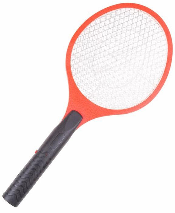 Мухобойка электрическая Rexant. 70-041070-0410Электрическая мухобойка Rexant по внешнему виду похожа на маленькую ракетку для бадминтона. При нажатиикнопки на внутреннюю сетку подается ток, в результате насекомое при контакте с ней получает смертельныйудар током.Благодаря большой контактной сетке насекомых легко ловить. Мухобойка не оставляет кровавых пятен на стенах,потолке и шторах. Электрическое устройство не выделяет вредных веществ и не имеет специфического запаха.Им могут пользоваться даже аллергики.Особенности:- безопасно для людей и домашних животных - бесшумная работа - простая в эксплуатации - легко чистится - работа от 2х батареек LR6 АА - напряжение сетки - 800ВРазмеры мухобойки: 50 х 21 см.