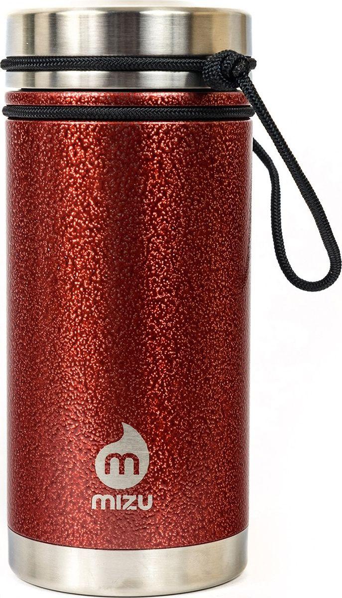 Термобутылка для жидкостей Mizu V5, цвет: красный, 500 мл813551022434Бутылка Mizu V5 выполнена из нержавеющей стали. Она создана для тех, кто любит брать с собой на работу, например, кофе или чай из дома. Кофейная крышка с дозатором, поэтому такую бутылку можно использовать и как термо-кружку, и как практичный походный термос. Объем: 500 мл. Диаметр: 7,5 см. Высота (с крышкой): 12,6 см. Вес: 263 г.