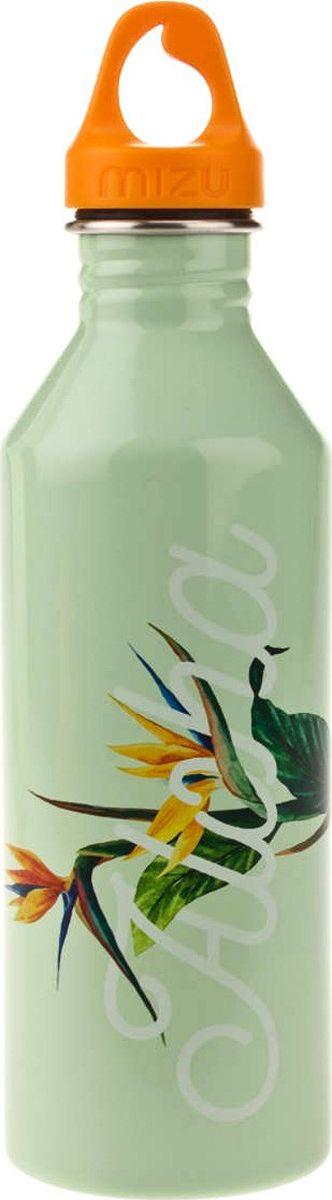Бутылка для воды Mizu M8, цвет: глянцево-ментоловый, 800 мл бутылка для воды mizu m8 st blue le w blue loop cap o s