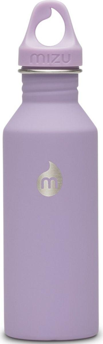 Бутылка для воды Mizu M5, цвет: лавандовый, 530 мл813551022779Легкая и миниатюрная бутылка Mizu M5 из пищевой нержавеющей стали подойдет для тех, кто заботится об окружающей среде и своем здоровье. Не содержит вредного BPA. Ее удобно брать с собой, пригодится в поездке, походе или на рыбалке.Объем: 530 мл.
