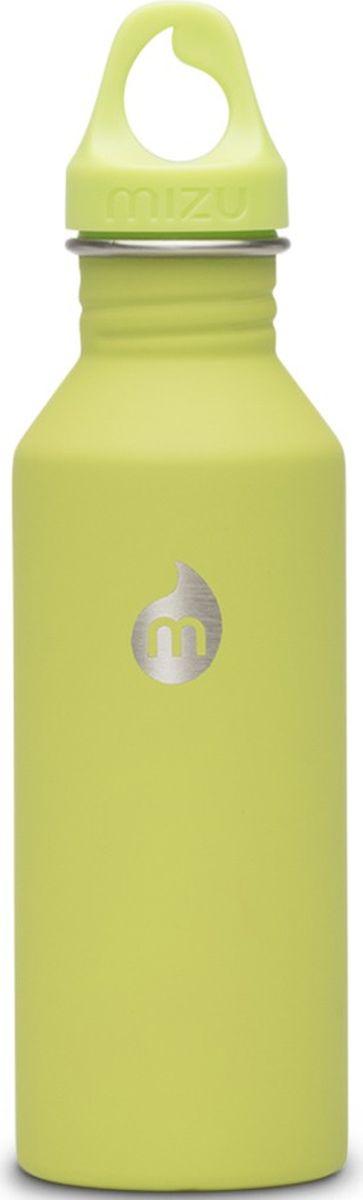 Бутылка для воды Mizu M5, цвет: лайм, 530 мл813551022786Легкая и миниатюрная бутылка Mizu M5 из пищевой нержавеющей стали подойдет для тех, кто заботится об окружающей среде и своем здоровье. Не содержит вредного BPA. Ее удобно брать с собой, пригодится в поездке, походе или на рыбалке.Объем: 530 мл.