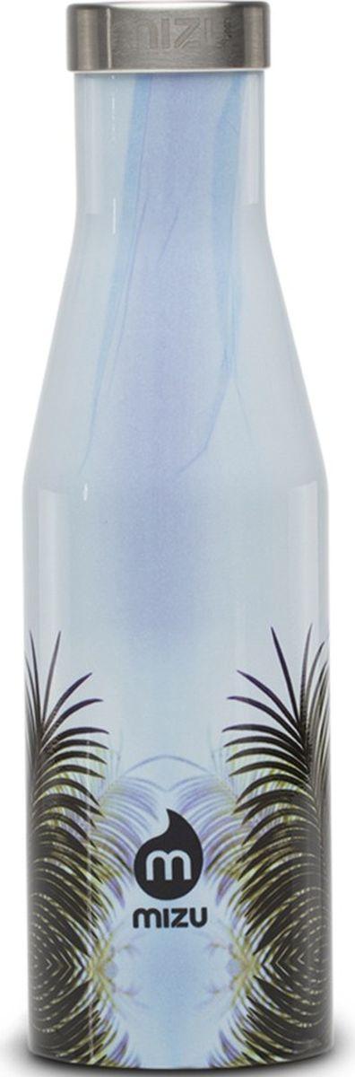 Термобутылка для жидкостей Mizu S4, серый, 400 мл813551023103Бутылка для воды Mizu S4 выполнена из пищевой нержавеющей стали. Корпус украшен фирменным логотипом. Рэтро-форма и дизайн были вдохновлены старомодной бутылкой для молока. Не содержит вредного BPA.Объем: 400 мл.