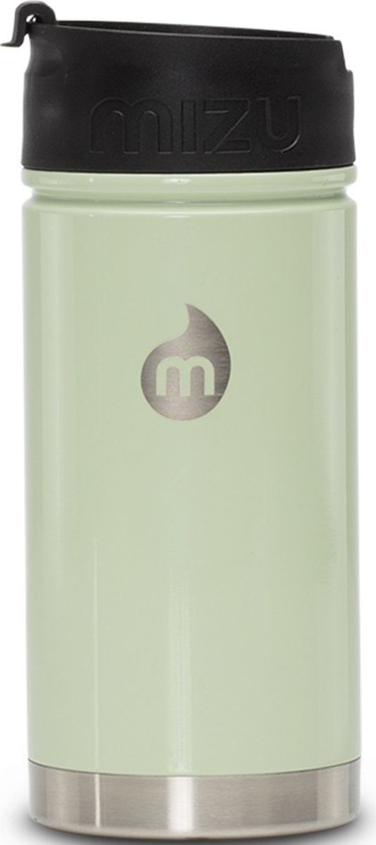 Термобутылка для жидкостей Mizu V5, цвет: бледно-голубой, 500 мл813551023165Бутылка Mizu V5 выполнена из нержавеющей стали. Она создана для тех, кто любит брать с собой на работу, например, кофе или чай из дома. Кофейная крышка с дозатором, поэтому такую бутылку можно использовать и как термо-кружку, и как практичный походный термос. Объем: 500 мл. Диаметр: 7,5 см. Высота (с крышкой): 12,6 см. Вес: 263 г.