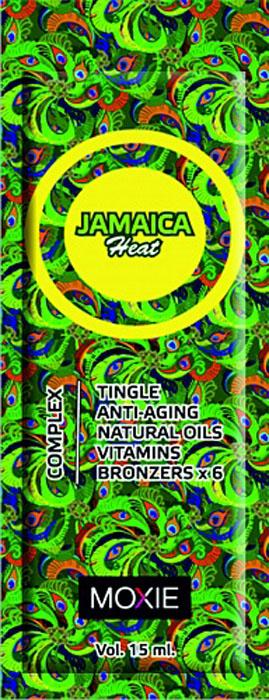 MOXIE Косметика для загара Jamaica Heat, 15 мл84Для тела, с комплексом 6-ти кратных бронзаторов, ДГА, тингл-эффект, увлажняющее средство, с ускорителями и усилителями. Максимально эффективный, мощный, разогревающий микс с комплексом бронзаторов нового поколения, обеспечивает очень быстрый и глубокий загар для уже загоревшей кожи. Обеспечивает роскошный уход за кожей, увлажняет и разглаживает ее. Быстро впитывается оставляя на коже приятный запах.