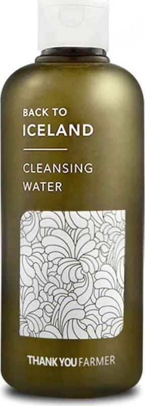 Thank You Farmer Очищающий тоник на основе исландского мха, 260 млTYF18Thank You Farmer Back To Iceland Cleansing Water обеспечивает совершенно новый уровень увлажнения: экстракт мха впитывает и удерживает воду в эпидермисе.Средство 5 в 1: тоник + очищение кожи перед макияжем и очищение от макияжа + очищение пор + уход за шелушащейся кожей + уход за аллергичной и раздраженной кожей.- мульти-очищение кожи без умывания: смывает косметику (включая тушь и помаду), очищает и сужает поры, очищает от омертвевших клеток;- природный состав подходит даже чувствительной аллергичной коже;- оставляет чувство чистоты и свежести, легкий природный аромат;- успокаивает раздражения и покраснения.