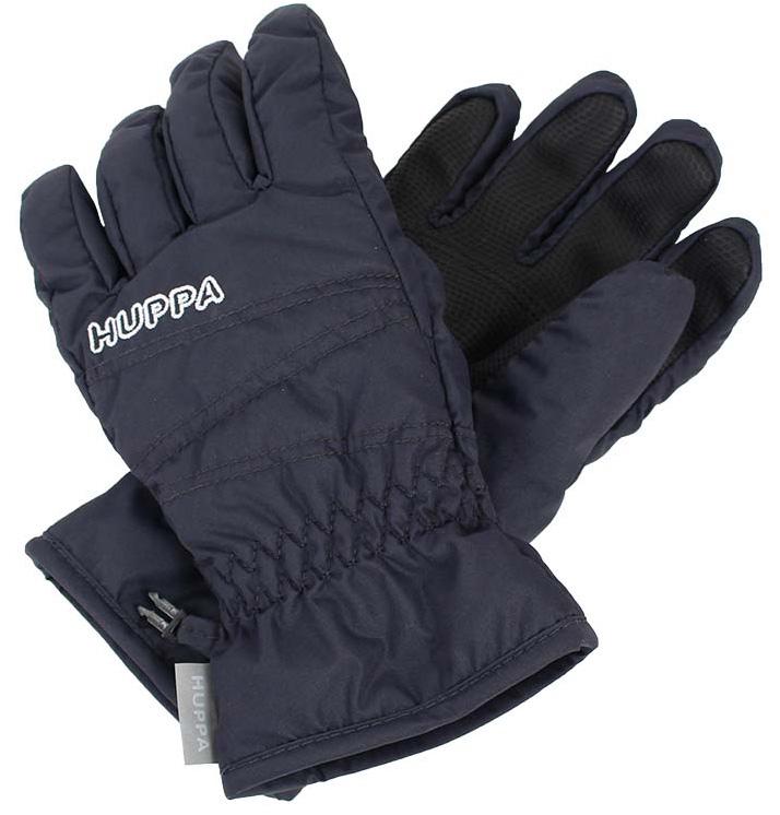 Перчатки детские Huppa Keran, цвет: темно-серый. 8215BASE-70048. Размер 78215BASE-70048Детские перчатки Huppa Keran выполнены из водонепроницаемого материала - высококачественного полиэстера. Утеплитель и подкладка из полиэстера не дадут рукам замерзнуть. Манжеты присборены на резинки. Такие перчатки отлично подойдут для повседневных прогулок в холодную погоду.