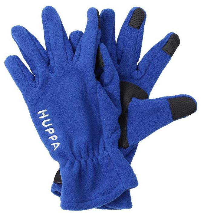 Перчатки детские Huppa Aamu, цвет: синий. 8259BASE-00035. Размер 48259BASE-00035Детские перчатки Huppa Aamu выполнены из мягкого флиса. Манжеты присборены на резинки. Такие перчатки отлично подойдут для повседневных прогулок в холодную погоду.
