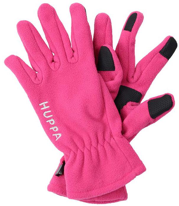 Перчатки детские Huppa Aamu, цвет: фуксия. 8259BASE-00063. Размер 38259BASE-00063Детские перчатки Huppa Aamu выполнены из мягкого флиса. Манжеты присборены на резинки. Такие перчатки отлично подойдут для повседневных прогулок в холодную погоду.